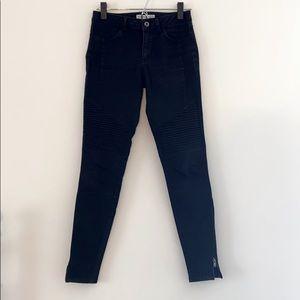 Zara || biker pants